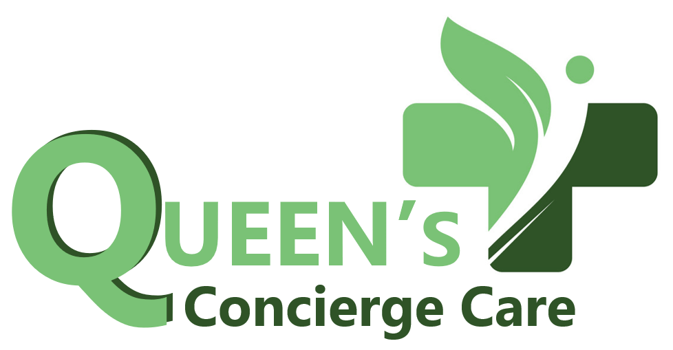 Queens Concierge Care Breast Feeding Pillow logo